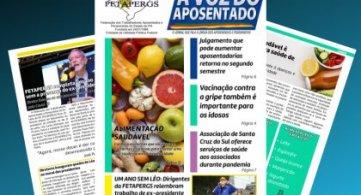 Jornal A Voz do Aposentado de Agosto
