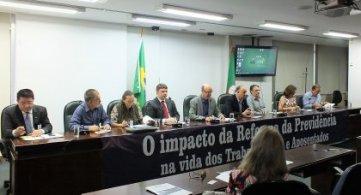 Audiência pública expõe principais pontos da reforma da Previdência