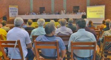 Encontro reúne autoridades para discussão sobre a Reforma da Previdência